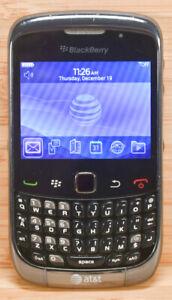 Blackberry Curve 3G 9300 - Graphite gray (AT&T) Smartphone