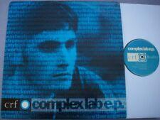 CRF Complex Lab EP MANCHESTER UK RAP Hip Hop + SIGNED PLUG LETTER WAX EP0069