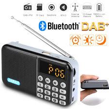 Tragbare DAB+ FM Radio Empfänger Bluetooth 4.0 Lautsprecher MP3 Player USB 3.5MM