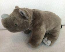 "Wild Republic 12"" Plush Stuffed Rhinocerus"