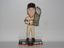 TIM LINCECUM San Francisco Giants Bobble Head 2014 WS Champs Trophy MLB NIB**