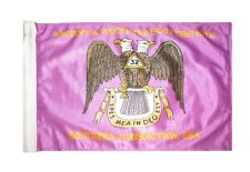 12x18 Ancient & Accepted Scottish Rite Freemason Double Sided 2ply Flag Sleeve
