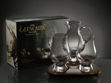 More details for the glencairn official 2 whisky glasses, water jug & flight tray set fathers day