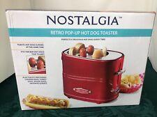 Nostalgia Retro POP-Up Hot Dog Toaster BNIB Electric Cooker