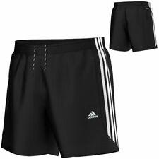 Adidas Essential 3 Stripe Chelsea Shorts Mens Black/White Gym/Fitness S88113 New