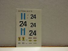 DECAL FERRARI 312P COUPE' 24H LE MANS 1970 #24 TAMEO KITS 1/43 TMK084