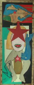 Château Marmont Gemälde post pop art  Frauen