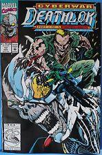 Marvel Comics Cyberwar Deathlok Part 1 of 5 17 NOV
