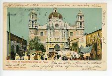 Guadelupe, Dias de Feria—Antique UDB Market Stores—Felix Miret STAMP TO USA 1905