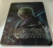 "Final Fantasy Vii Remake Steelbook Case Ps4 (No Game) ""Custom"""
