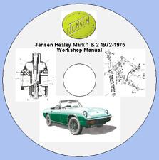 Jensen Healey Mark 1 & 2 1972-1975 Workshop Manual