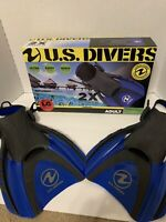 US Divers Shredder Fin for Adults Compact for Travel- Size LG Men 10-13 Wm 11-14