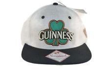 Guiness Beer Snapback Hat Cap Shamrock Logo Gray Adjustable Strap Harp St Pats