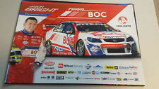 JASON BRIGHT  BOC RACING signed Supercars Poster