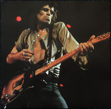 THE ROLLING STONES POSTER PAGE . KEITH RICHARDS & FENDER TELECASTER GUITAR . E20
