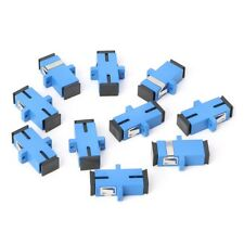 10PCS SC/UPC Fiber Optic Adapter SC Fiber Optic Flange SC/UPC Connector
