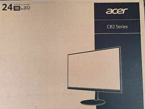 """BRAND NEW Acer CB242Y Series 24"""" Monitor Full HD Brand New Sealed"""