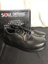 Acor Sole Defense Broadway Diabetic Shoes Black Tandem Closure Men 13W Women 15W