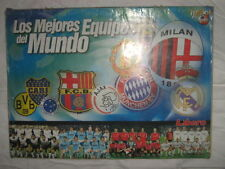 ALBUM STICKERS THE BEST TEAMS OF THE WORLD 2003 100% COMPLETE PERU EDITION RARE