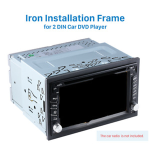 Car SUV Radio Stereo Install Bezel Panel Mount Dash  Double 2Din Kit Accessories
