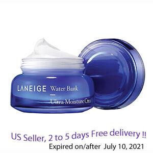 Laneige Water Bank Ultra Moisture Cream 50 ml  + Free Sample !!