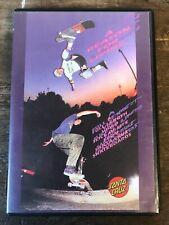 1990 Santa Cruz Skateboards A Reason For Living Original DVD Film Skate Video.
