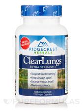 Ridgecrest Herbals 24001469 ClearLungs Extra Strength 120 Vegan Caps