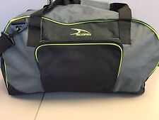 Score Sports Gym Duffle Sports Gym Bag Polyester Gray and Black