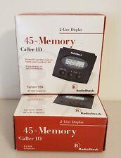 radio shack 45 memory 2 line caller id