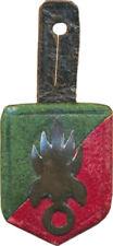 3° R.E.I au MAROC, vers 1925 1930, insigne de poitrine en cuir, 31 X 24 mm(3959)