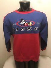New listing Vintage Mickey Mouse Disney Colorblock Sweatshirt Mens Large