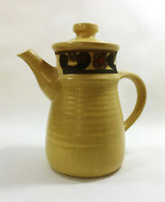 Vintage J&G Meakin Coffee Pot Aquarius Studio Two Shape 1960-70's Retro