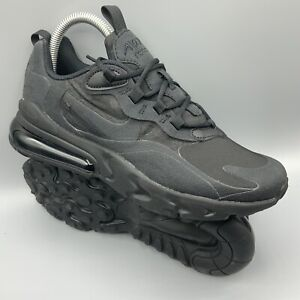 Nike Air Max 270 React GS Black Running Shoes BQ0103-004 Size 5.5Y / 7 Women's