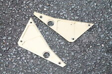 LAVERDA 650 / 668 DIAMANTE GOLD SIDE FRAME INFILL TRIMS PANELS