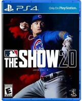 MLB The Show 20 PS4 Playstation 4 Brand New Sealed
