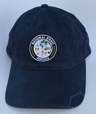 NATIONAL STREET SERVICE Patch Baseball Cap Hat Adjustable Strapback Blue