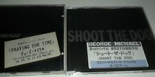 George Michael Japanese Promo Sticker CD Shoot the Dog Praying For Time Japan