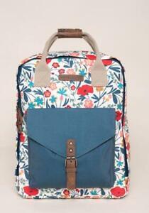 Brakeburn Botanical Womens Backpack (Multicoloured) New 2021