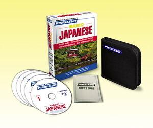 NEW 5 CD Pimsleur Learn to Speak Basic Japanese Language