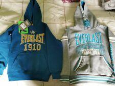 2 boys hoodies Everlast size 7-8 years NEW