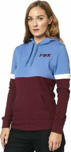 Fox Racing Red Flag Womens Pullover Hoody Blue