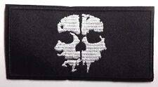 "CALL OF DUTY Ghost Legion Logo 3.5"" Black Patch-  FREE S&H (CDPA-06)"