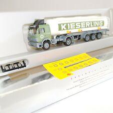 """Herpa 1:87 Mercedes Benz Tanksattelzug """" KIESERLING """" OVP(EK1503)"""