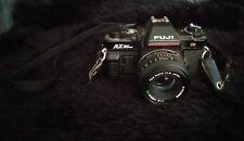Fuji AX Multi Program DX 35mm Film Camera W/ X-Fujinon  1:1.9 F=50mm DM