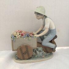 Lladro - 1980-85 #5029 Retired Flower Peddler Porcelain Figurine