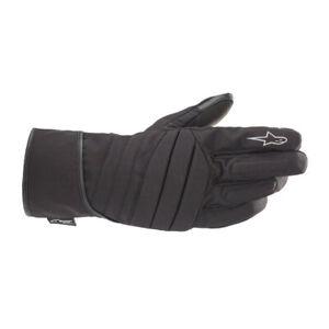 Alpinestars SR-3 V2 Men's Drystar Textile Motorcycle Gloves Black