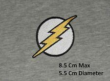 DC Comics Flash Logo Repasser/ à coudre Patch brodé / Badge/ Logo