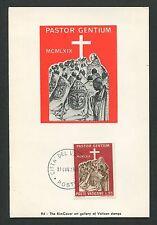 Vatican Mk 1969 uganda África africa maximum tarjeta Carte maximum card mc cm d2506