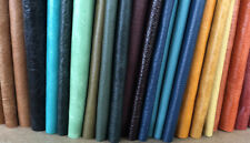 25 Pieces Of 170mm-130mm, Random Mixed Colour Craft Leather Bundle.
