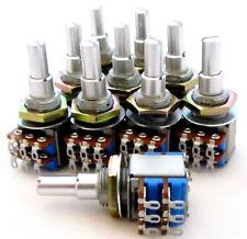 10 Lot Tocos Concentric Pot A250K  A3K Dual Audio Taper Potentiometer 250K 3K BY